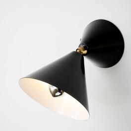 Cone Lamp Black