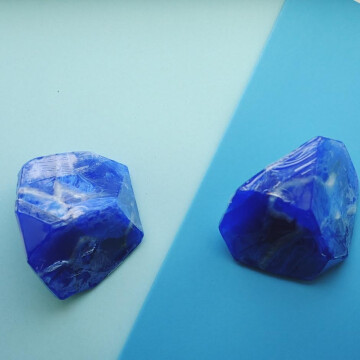 Soap stone Lapis Lazuli