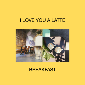 Giftcard / I Love You a Latte