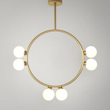 Circle Pendant - 6 globes