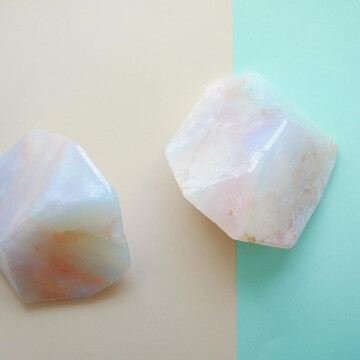 Soap stone White opale