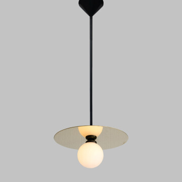 Disc Sphere pendant / horizontal