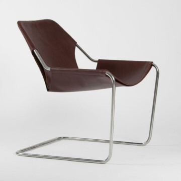 Paulistano armchair / cognac leather