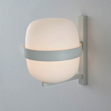 Wally wall lamp white